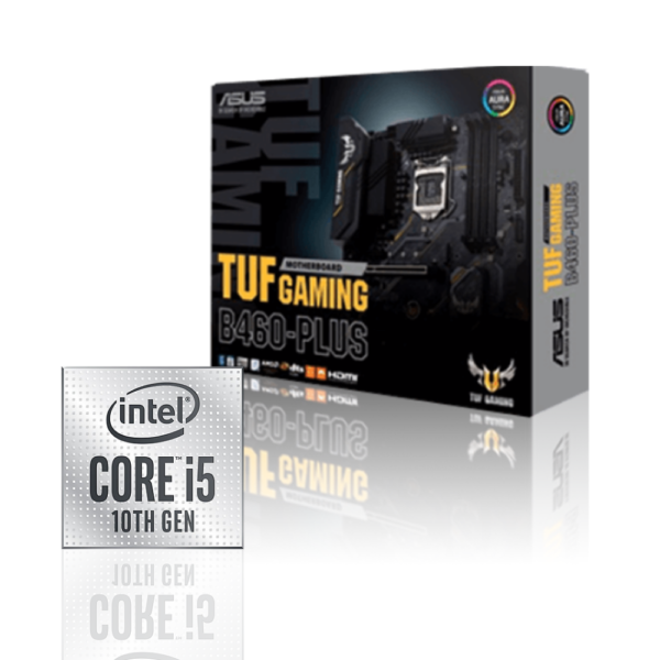 Tuf B460plus + Intel I5 10400f T