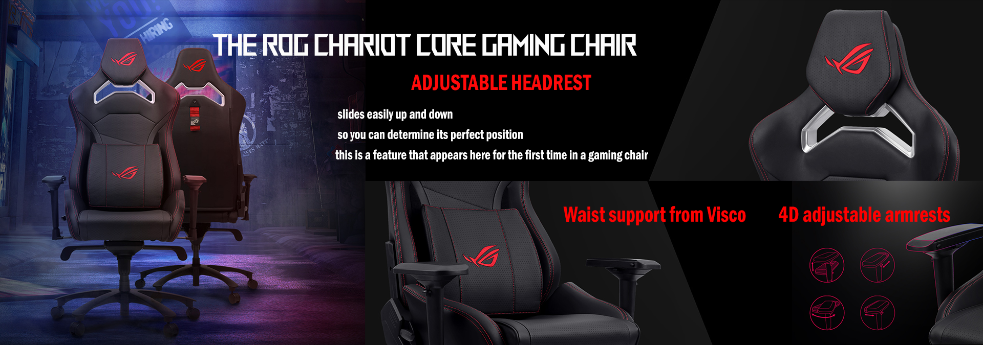 Rog Chariot Core Banner