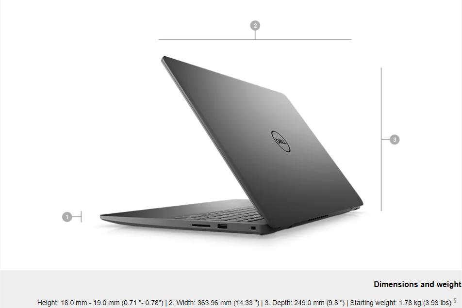 Dell I7 1165g7 8gb Ssd 512gbfhd Mx330 Desc1