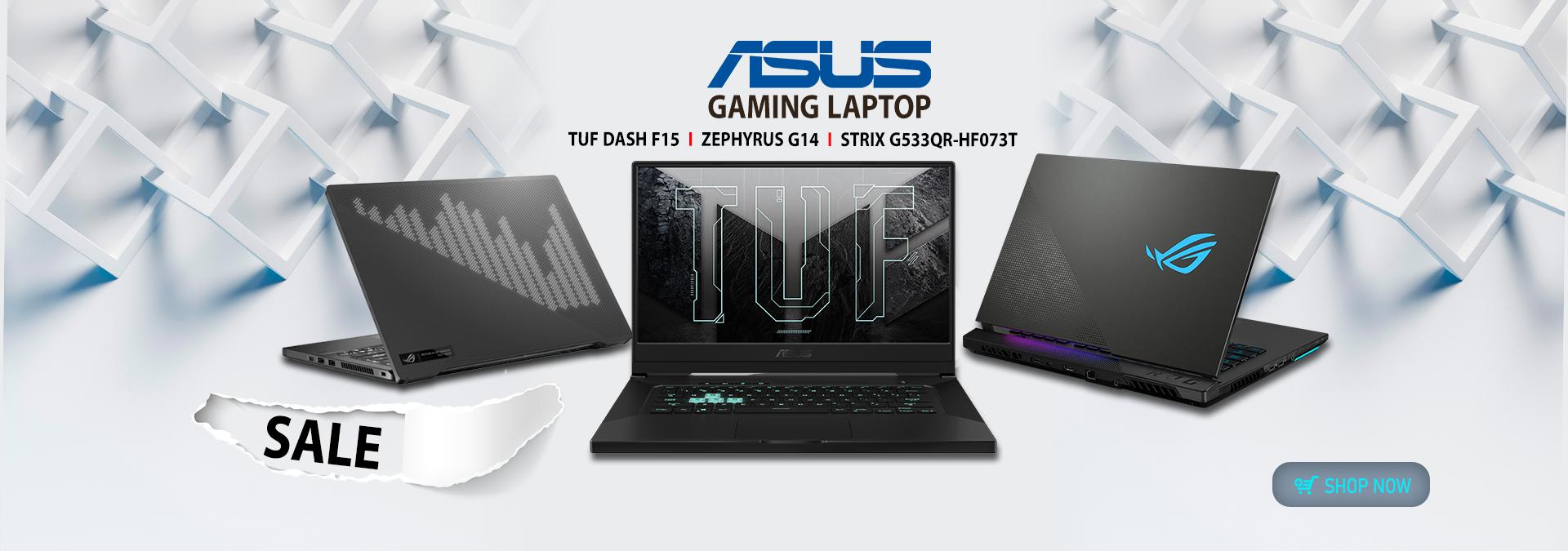 Asus Laptop Sal Banner
